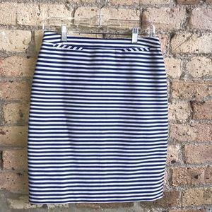 Halogen blue and white skirt